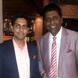Vijay Amritraj, former tennis player