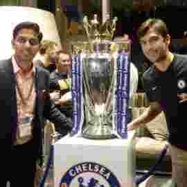 Paulo Ferreira former Chelsea FC player and Club Ambassador
