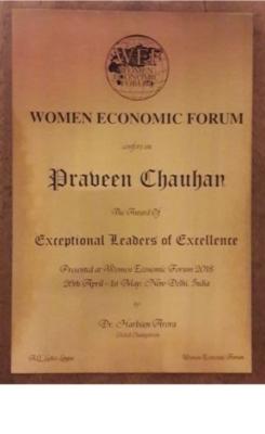 Women Economic Forum (WEF) 2018
