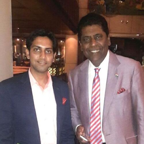 Vijay Amritraj, Tennis Player